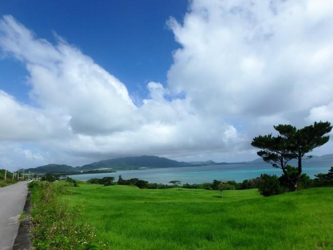 ⑤ここから10kmは海のそばを走ることができ心地良い